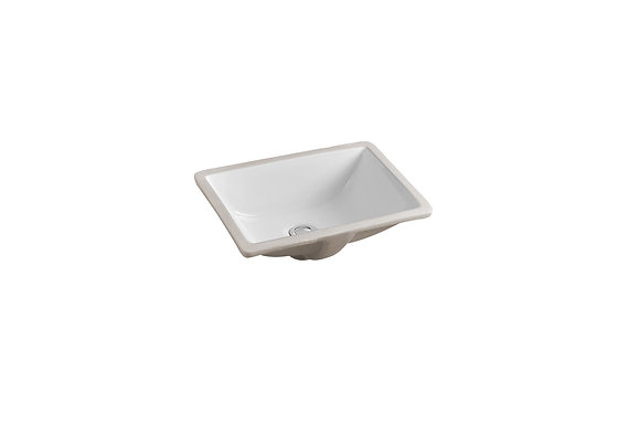 Rectangular Ceramic Undermount Basin SK-2012-WH