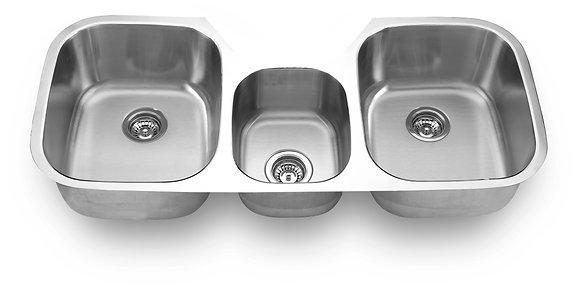 Undermount Three Bowl Sink SM1180C