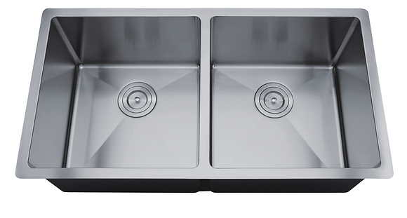 Undermount Double Bowl Sink RR3219D