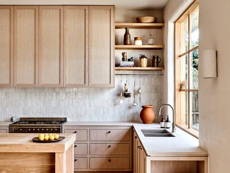 Are Orange-y Oak Cabinets Making A Comeback?