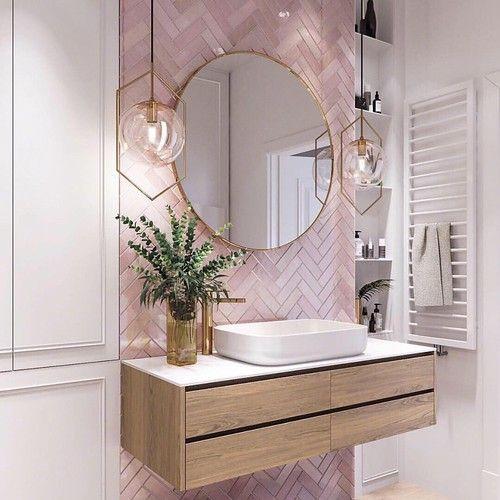 pink tile bathrooms, save pink bathrooms, midcentury modern bathrooms