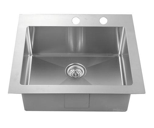 Topmount Single Bowl Sink RD2522-9