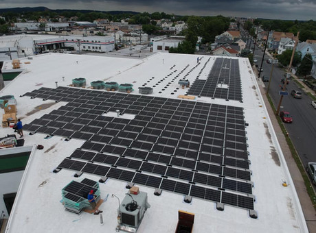 Largest Commercial Solar System in Paterson, New Jersey!