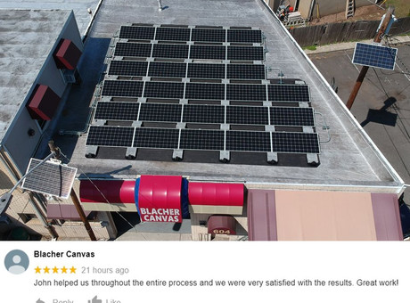 Local Family-Owned Business Goes Solar!