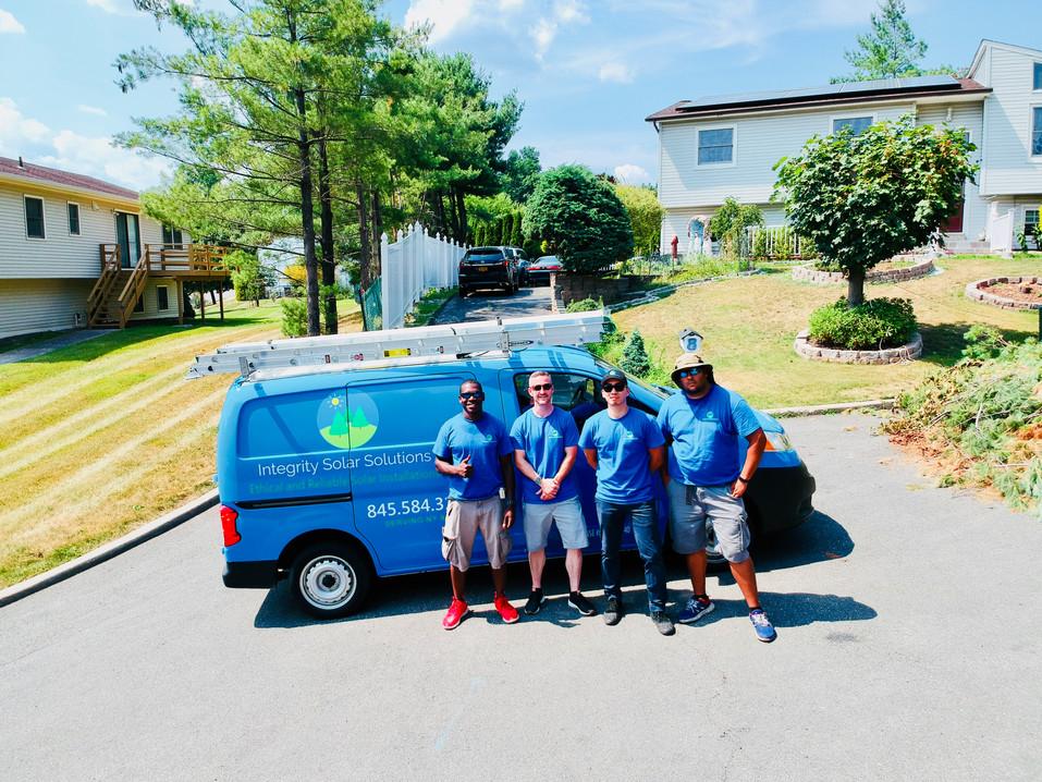 Integrity Solar Solutions Team Photo