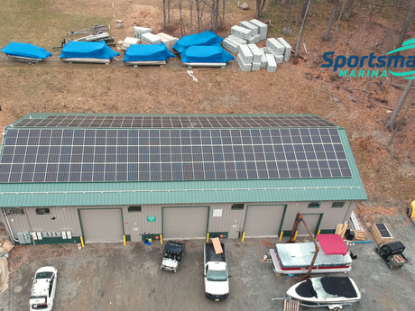 Sportsmans Marina Goes Net Zero: Installs Largest Solar Array on Greenwood Lake