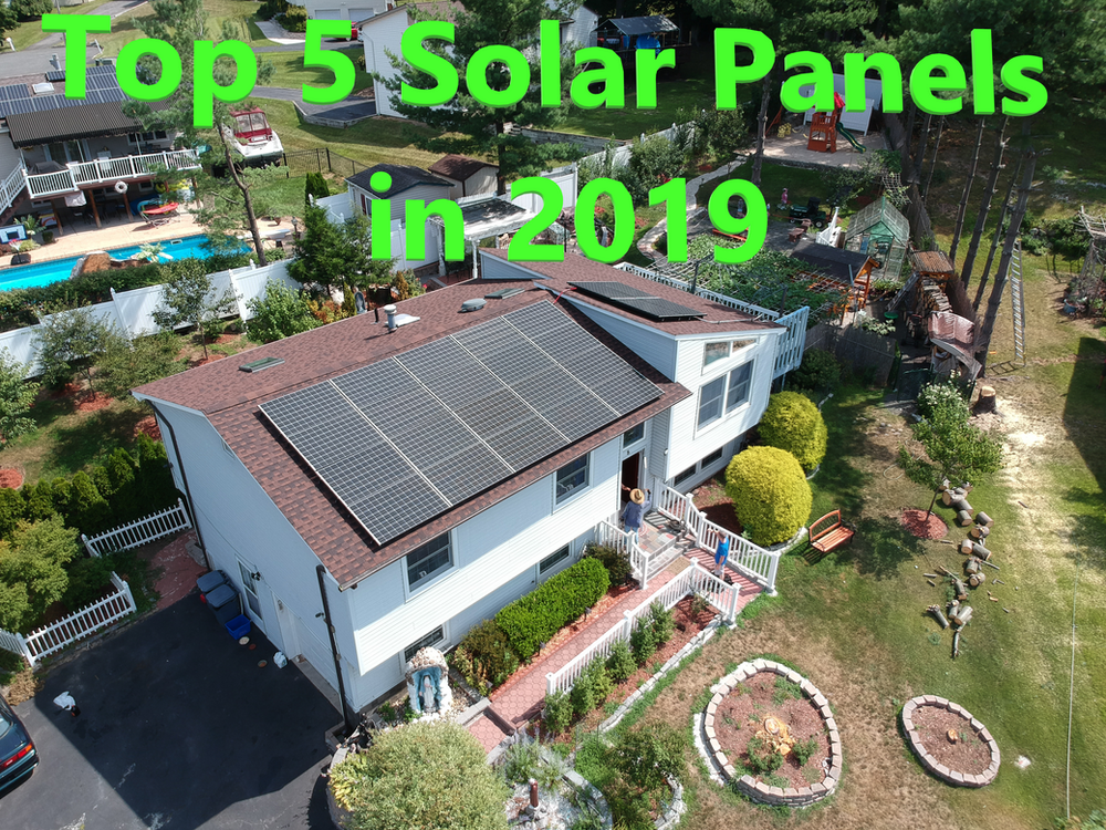 Top 5 Solar panels in 2019