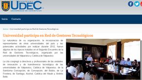 UDEC participa en Red de Gestores Tecnológicos