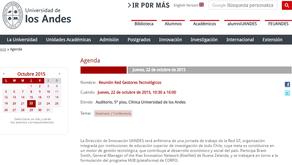 Agenda reunión Red Gestores Tecnológicos