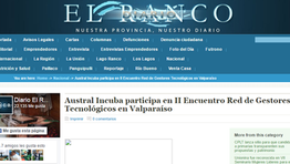 Austral Incuba participa en II Encuentro Red de Gestores Tecnológicos en Valparaíso