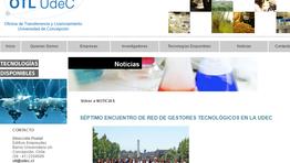 SÉPTIMO ENCUENTRO DE RED DE GESTORES TECNOLÓGICOS EN LA UDEC