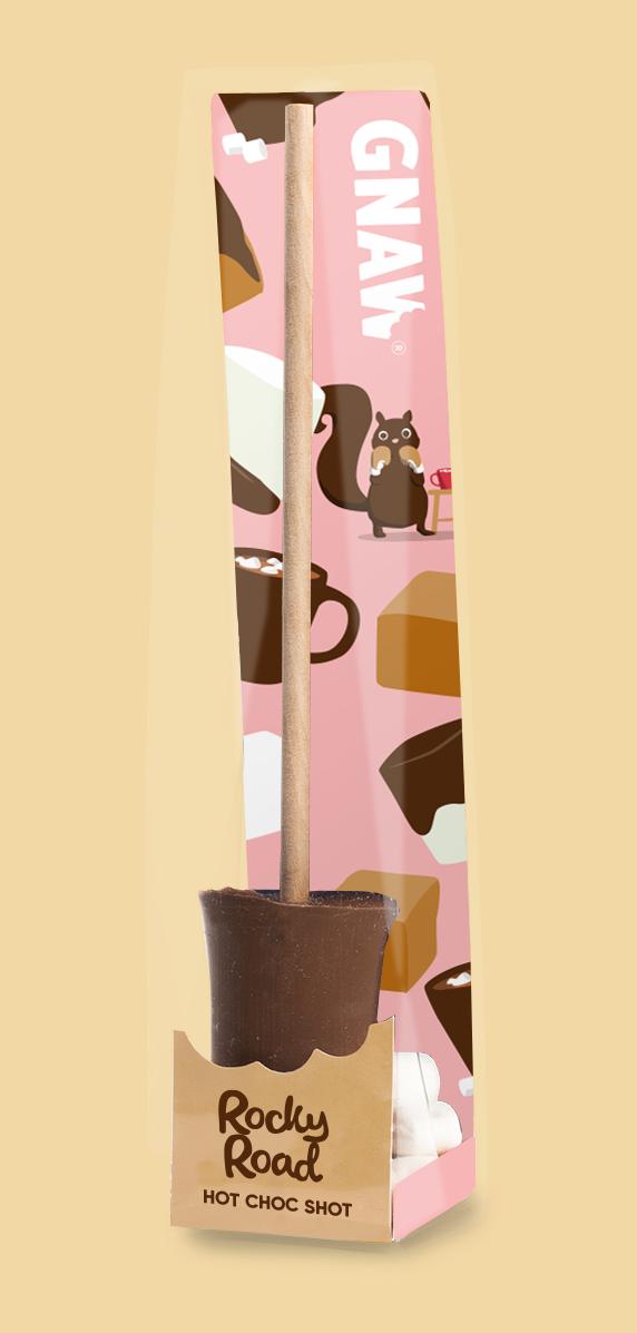 Sucettes de chocolat GNAW