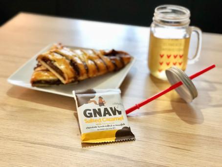 Brioche au peanut butter   Une brioche simple et délicieuse pour commencer votre semaine :)