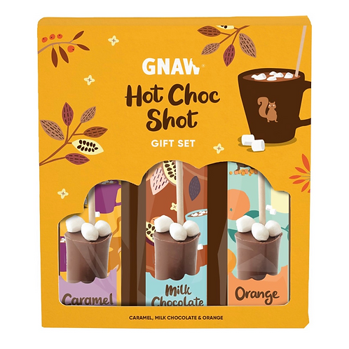 Ma Box Hot Shot (pack 3 sucettes à fondre pour faire des chocolats chaud)