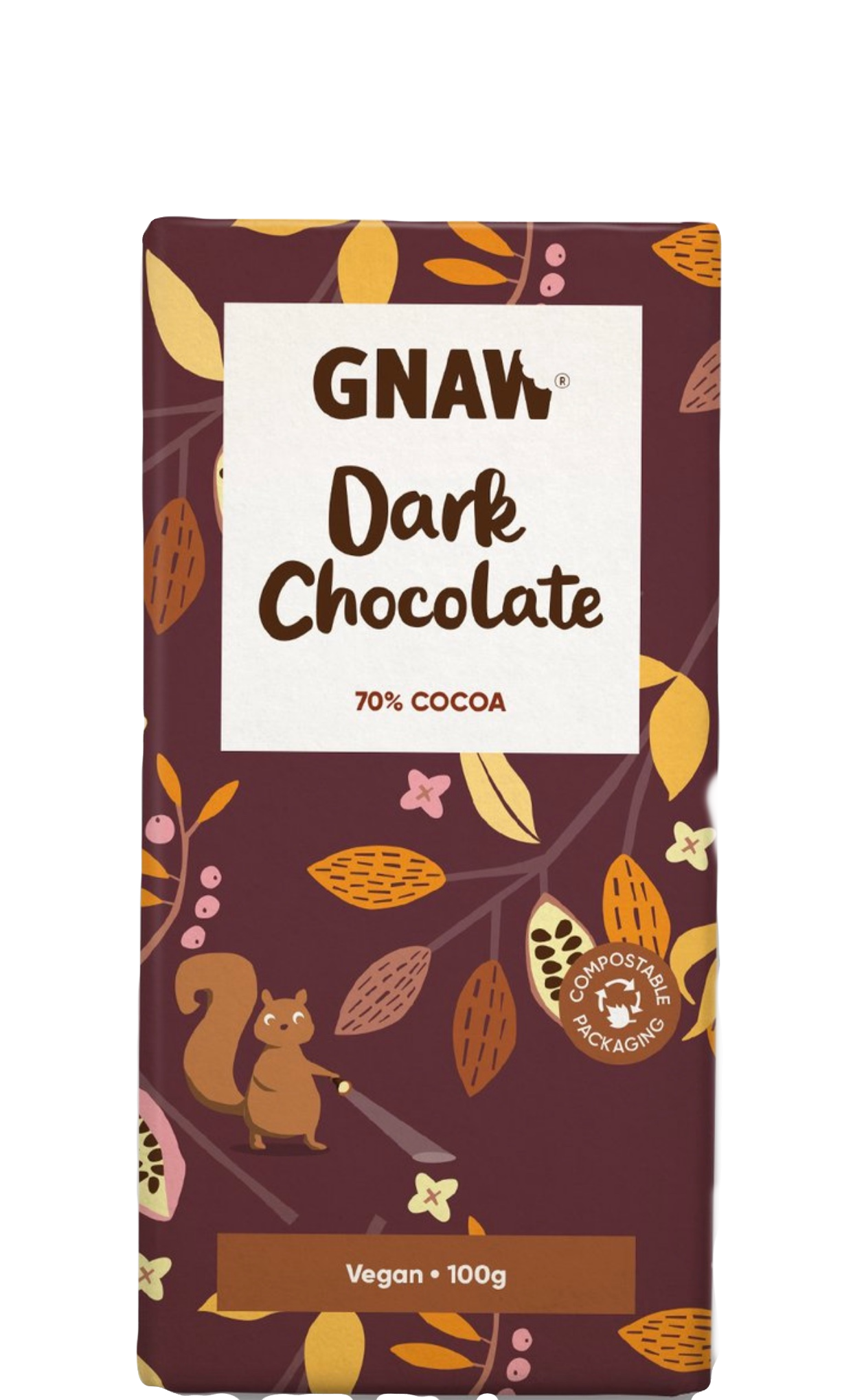 GNAW CHOCOLAT NOIR 70% 5060463492090