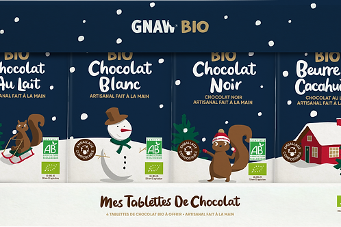 ORGANIC CHOCOLATE BAR CHRISTMAS PUZZLE x SPA