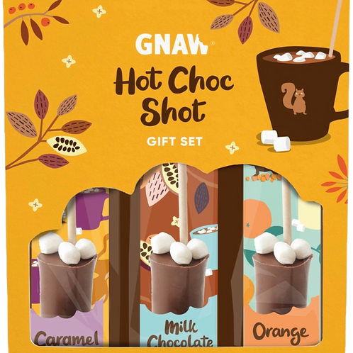 My Hot Shot Box (pack of 3 lollipops to melt to make hot chocolates)