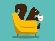 GNAW's hot chocolate