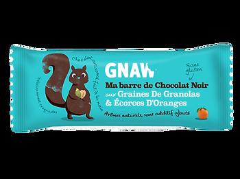 Barre de granolas au chocolat GNAW