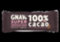 Barre de chocolat GNAW 100%