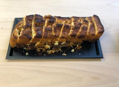 """Excellent cake marbré avec notre tablette """"peanut butter"""""""