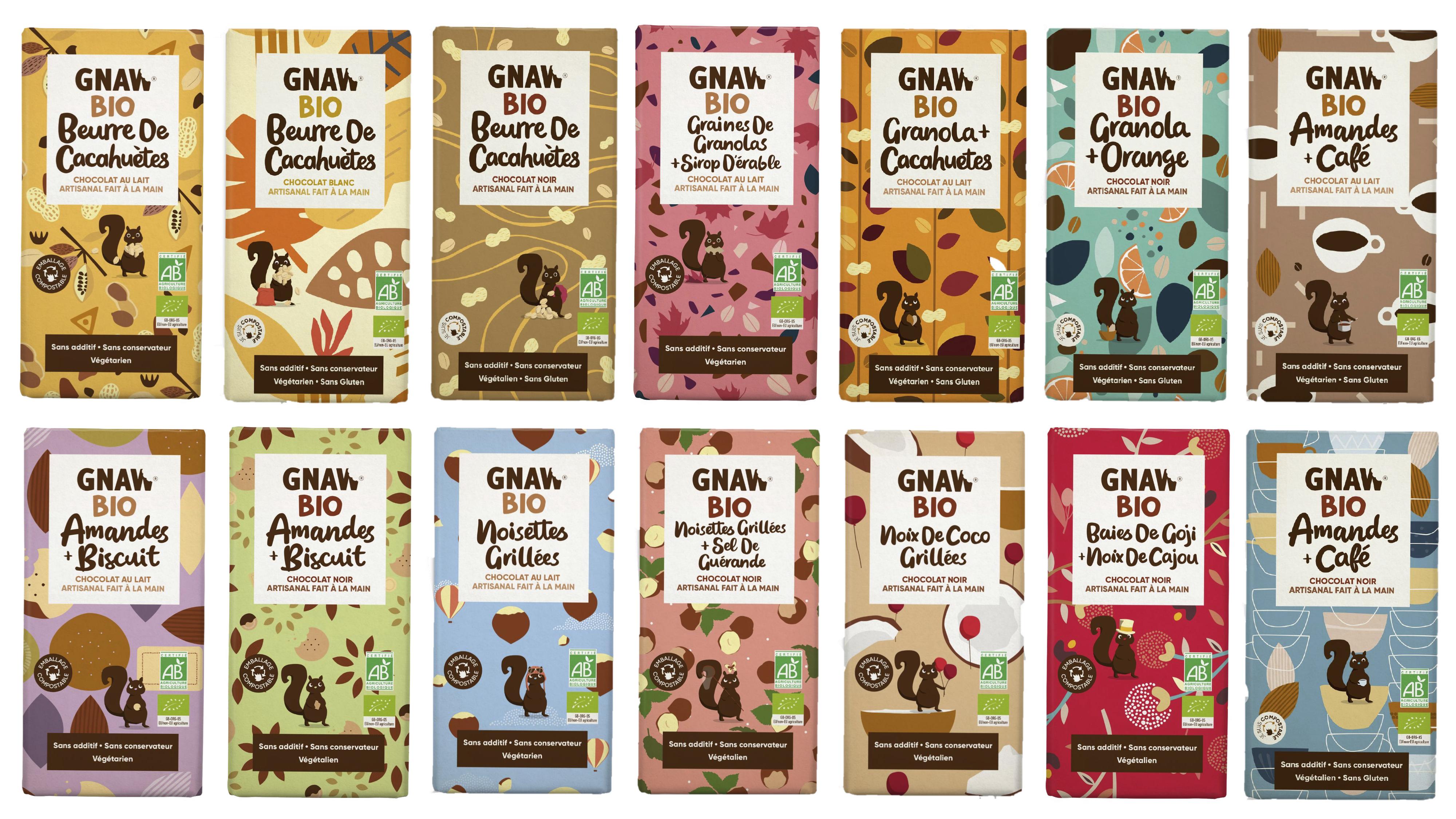 MON CHOCOLAT BIO de GNAW