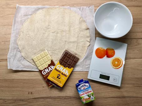 Tartelette au chocolat peanut butter