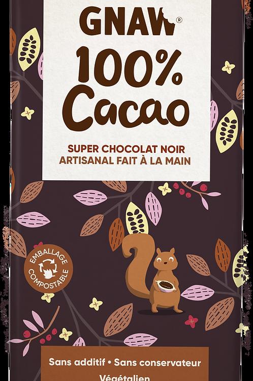 Ma tablette chocolat noir 100%