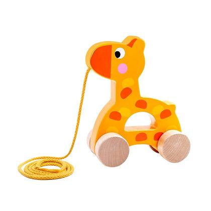 Tooky Toy: Pull Along Giraffe