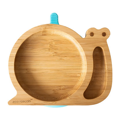 Eco Rascals: Snail Bamboo suction plate
