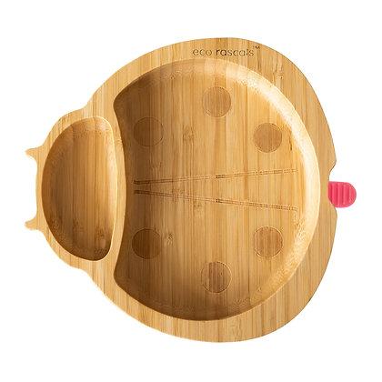 Eco Rascals: Ladybird Bamboo suction plate