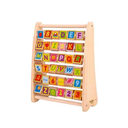 Tooky Toy: Alphabet Abacus