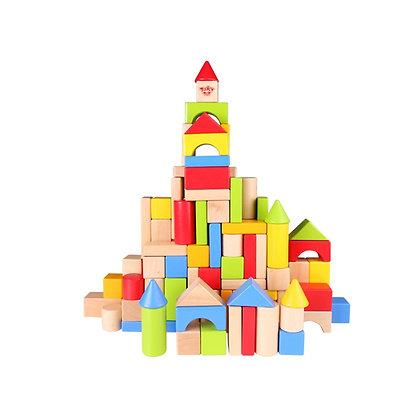 Tooky Toy: Blocks (100pcs)