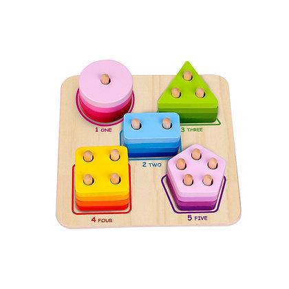 Tooky Toy: Geometric Block Sorter
