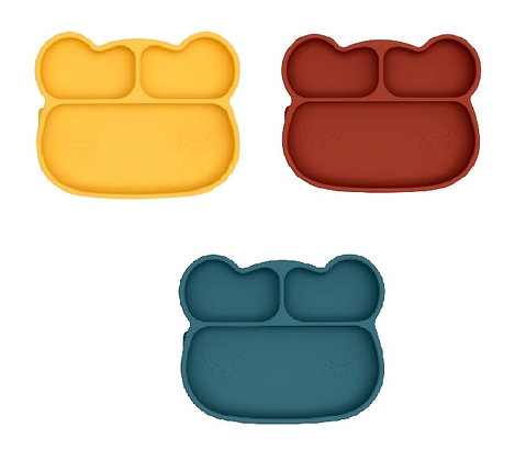 We Might Be Tiny: Bear Stickie Plate