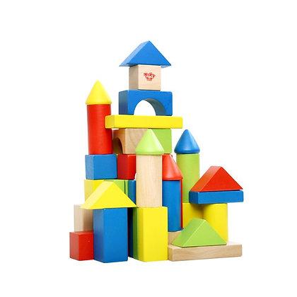 Tooky Toy: Blocks (50pcs)