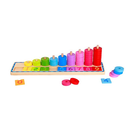 Tooky Toy: Counting Stacker