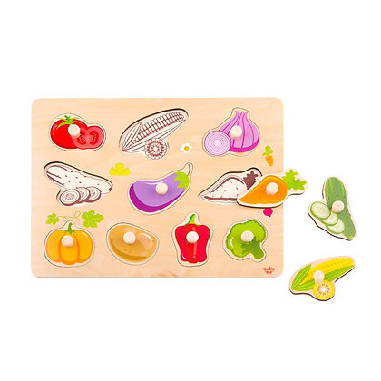 Tooky Toy: Vegetable Puzzle