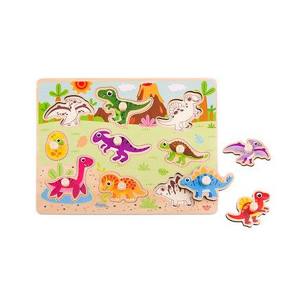 Tooky Toy: Dinosaur Puzzle