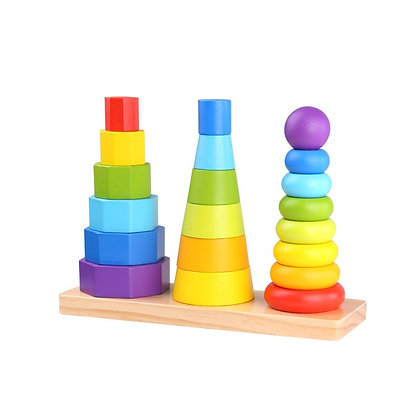 Tooky Toy: Shape Tower