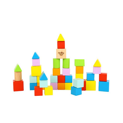 Tooky Toy: Blocks (39pcs)