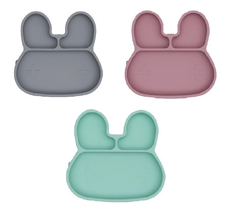 We Might Be Tiny: Bunny Stickie Plate
