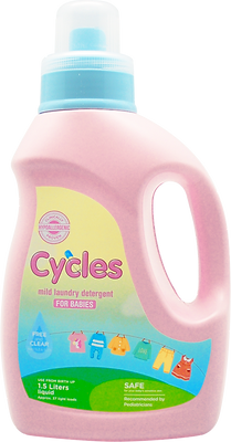 Cycles: Mild Liquid Detergent 1.5L