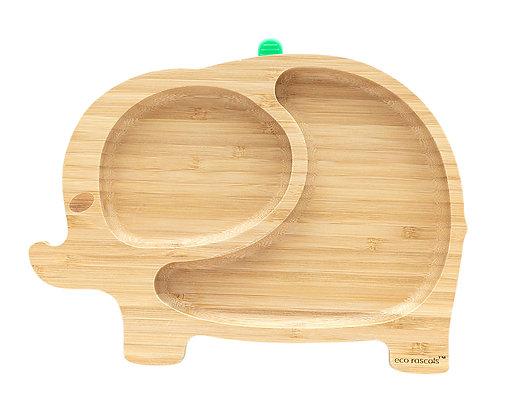 Eco Rascals: Elephant Bamboo suction plate