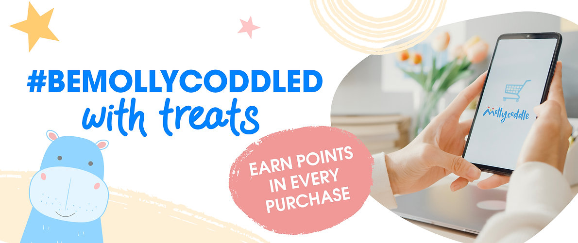 Earn points for every purchase