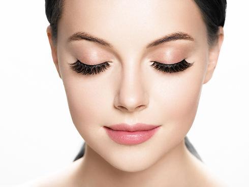 Lashes extension, eyelash, beautiful wom