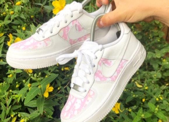 Air Force 1- Pink Dior