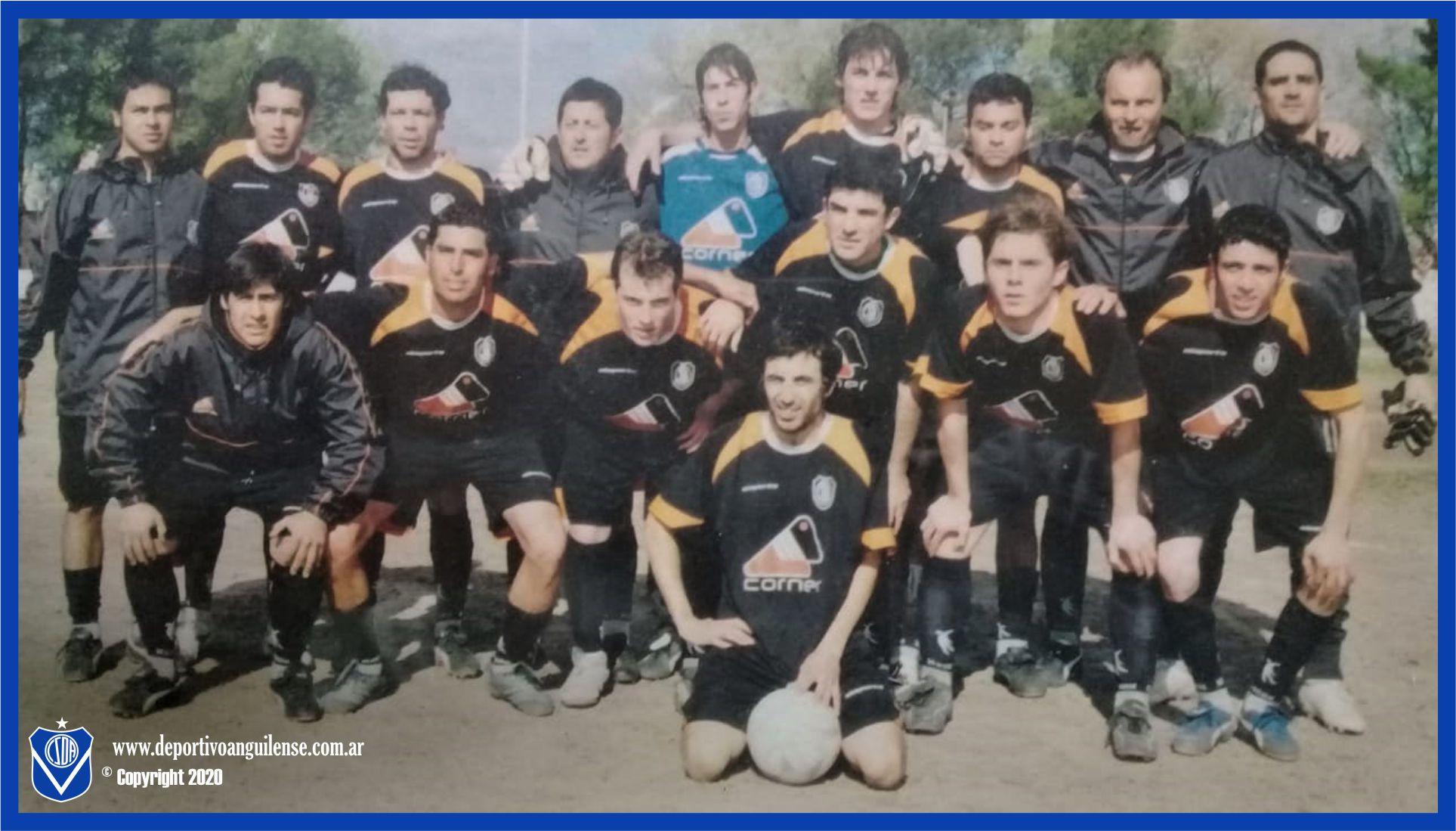 Anguilense 2007 Camiseta Negra