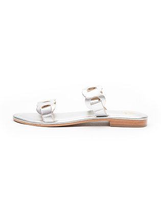 LINKED CHAIN DOUBLE STRAP SLIDE