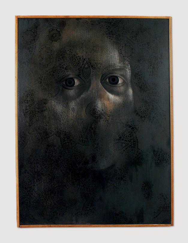 Self-Portrait in Black
